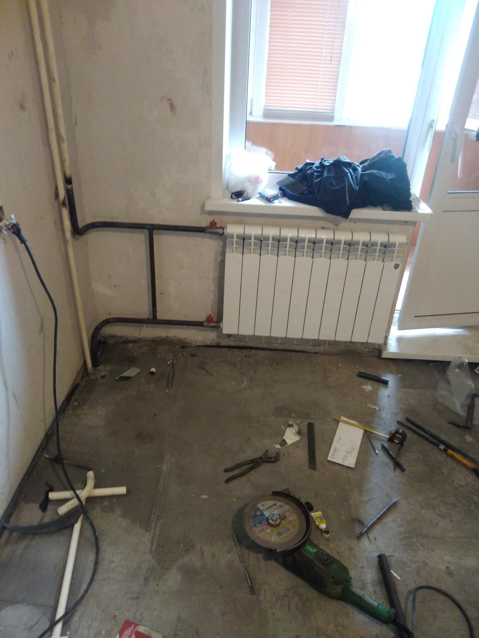Замена радиатора #1001447