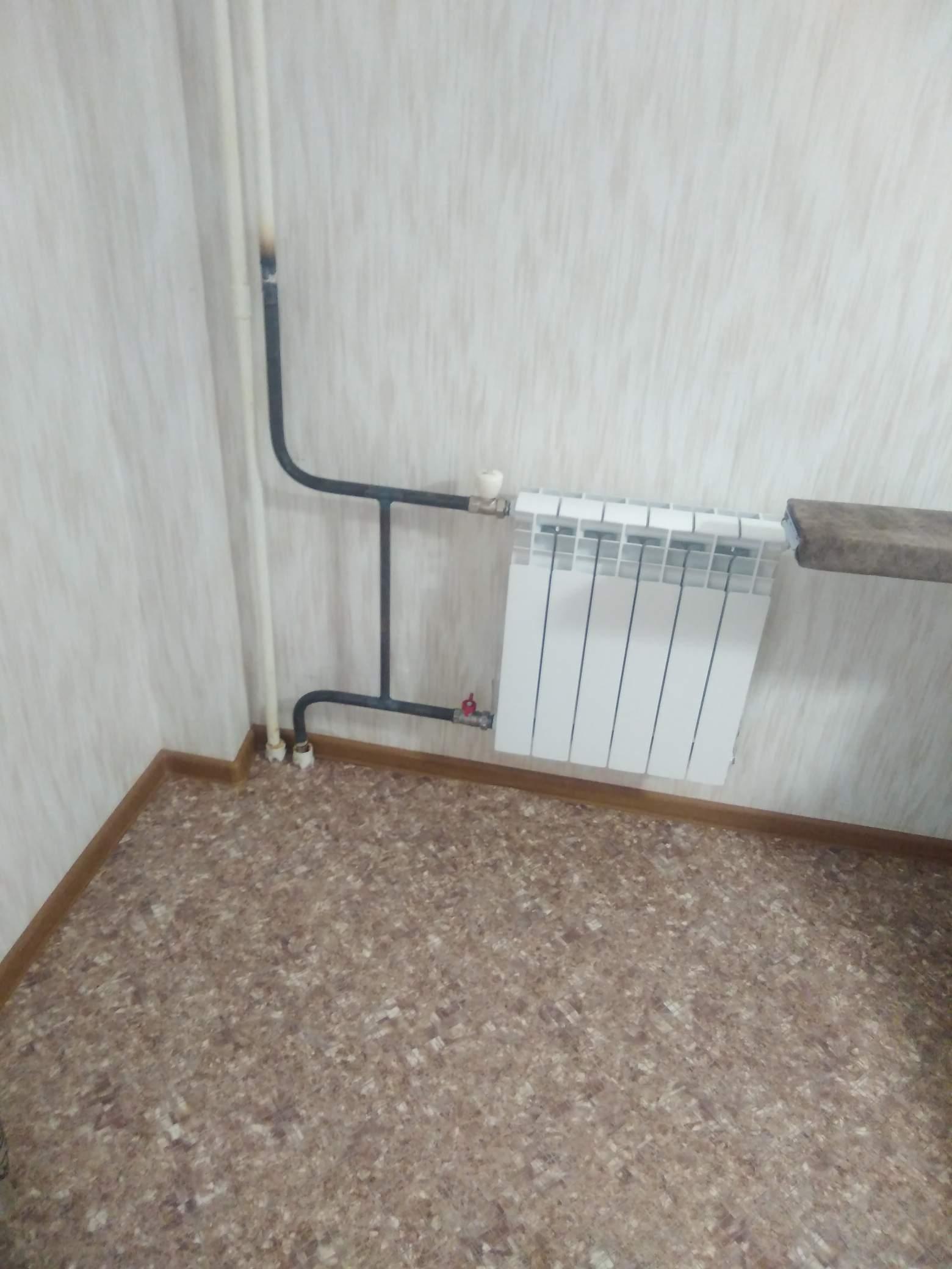 Монтаж 2-х радиаторов #1001463