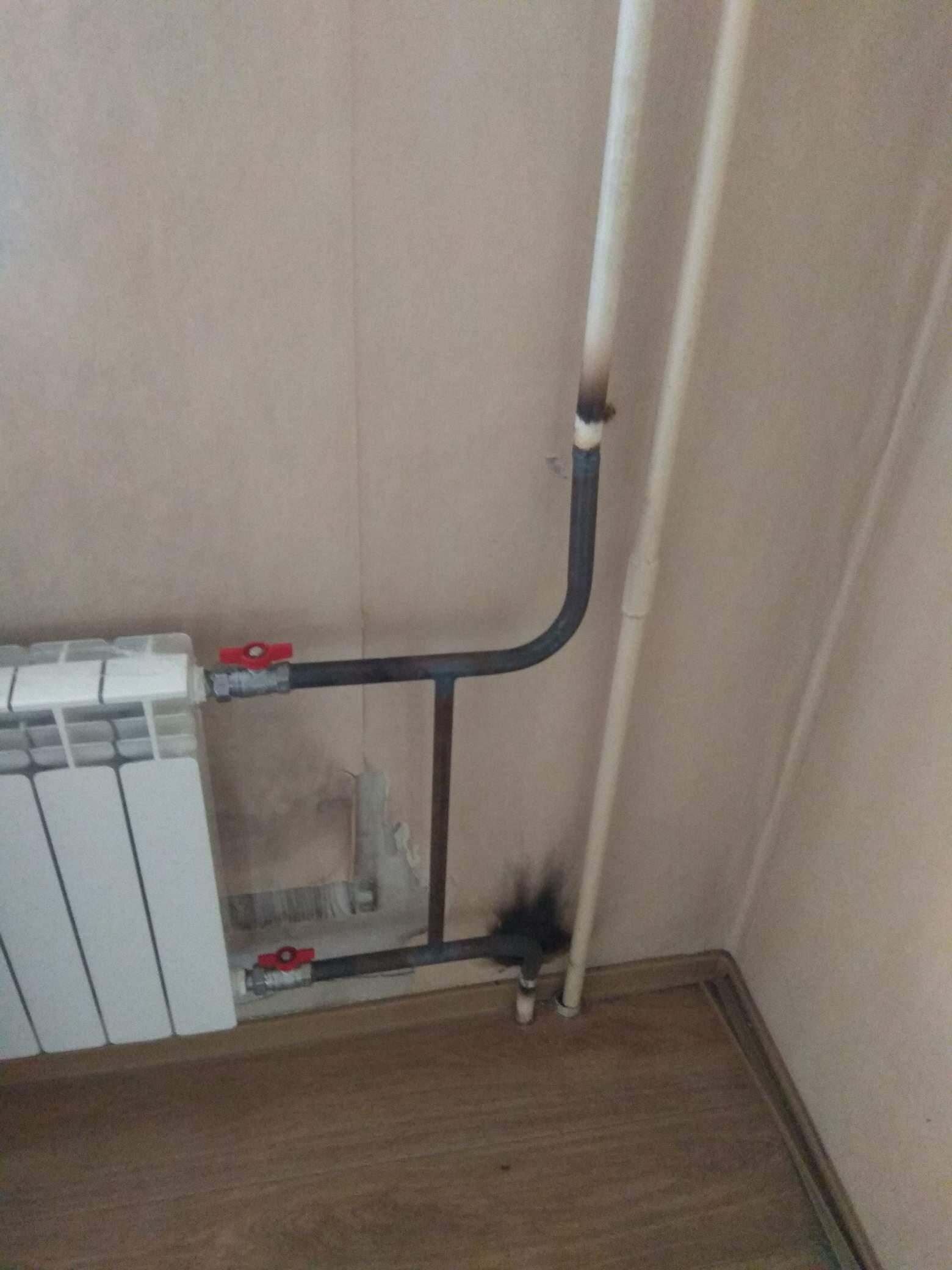 Замена 4х радиаторов отопления #1001522