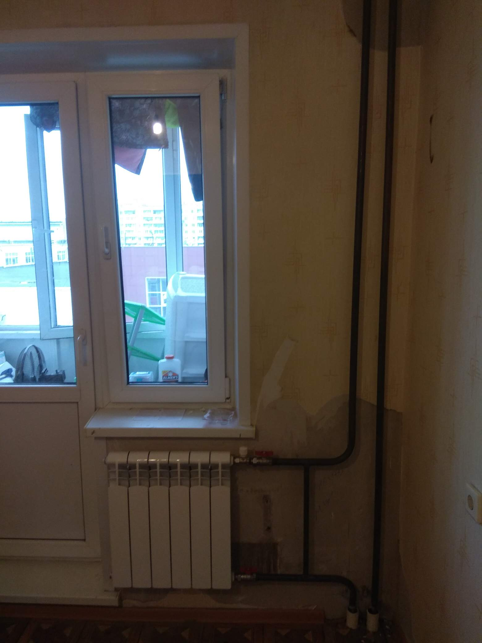 Установка 4х радиаторов отопления #5291