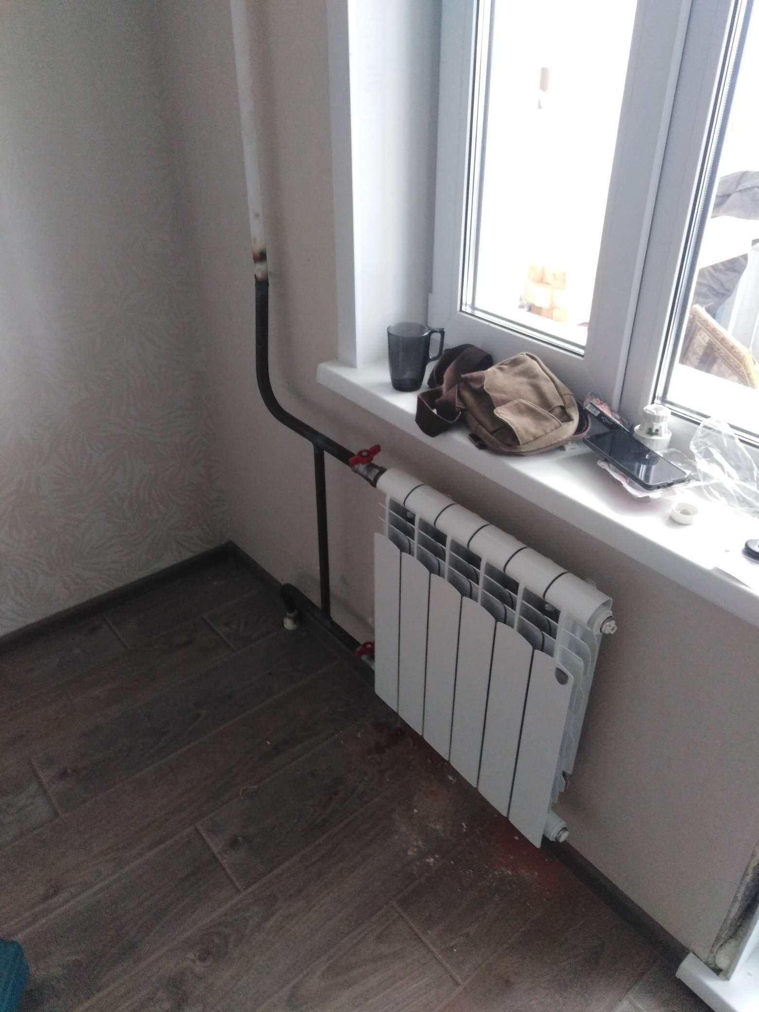 Замена двух радиаторов #5342