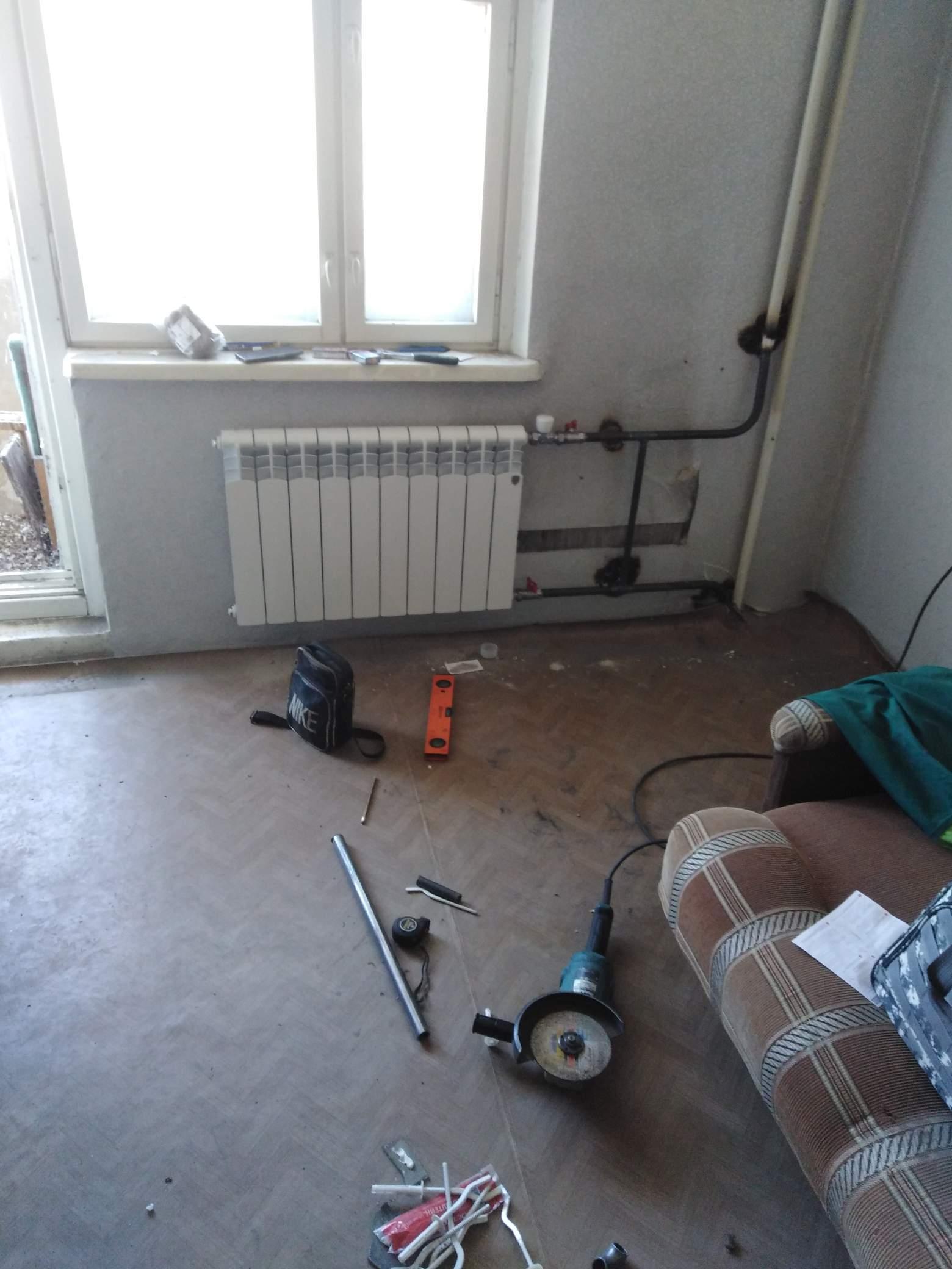 Замена радиаторов отопления #5346