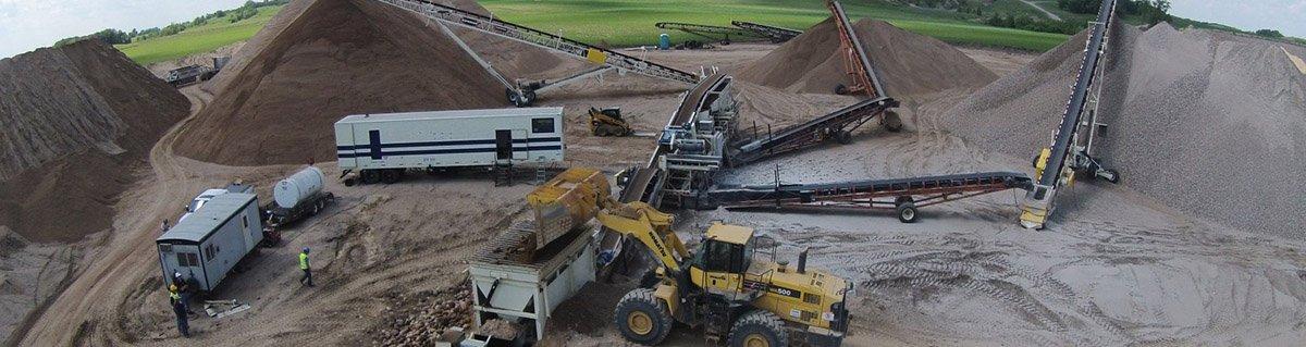 поставка насыпных стройматериалов